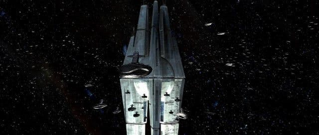 The Star Forge is a massive space station that could manufacture tons of droids, ships, and other war materials, but at a dark price.