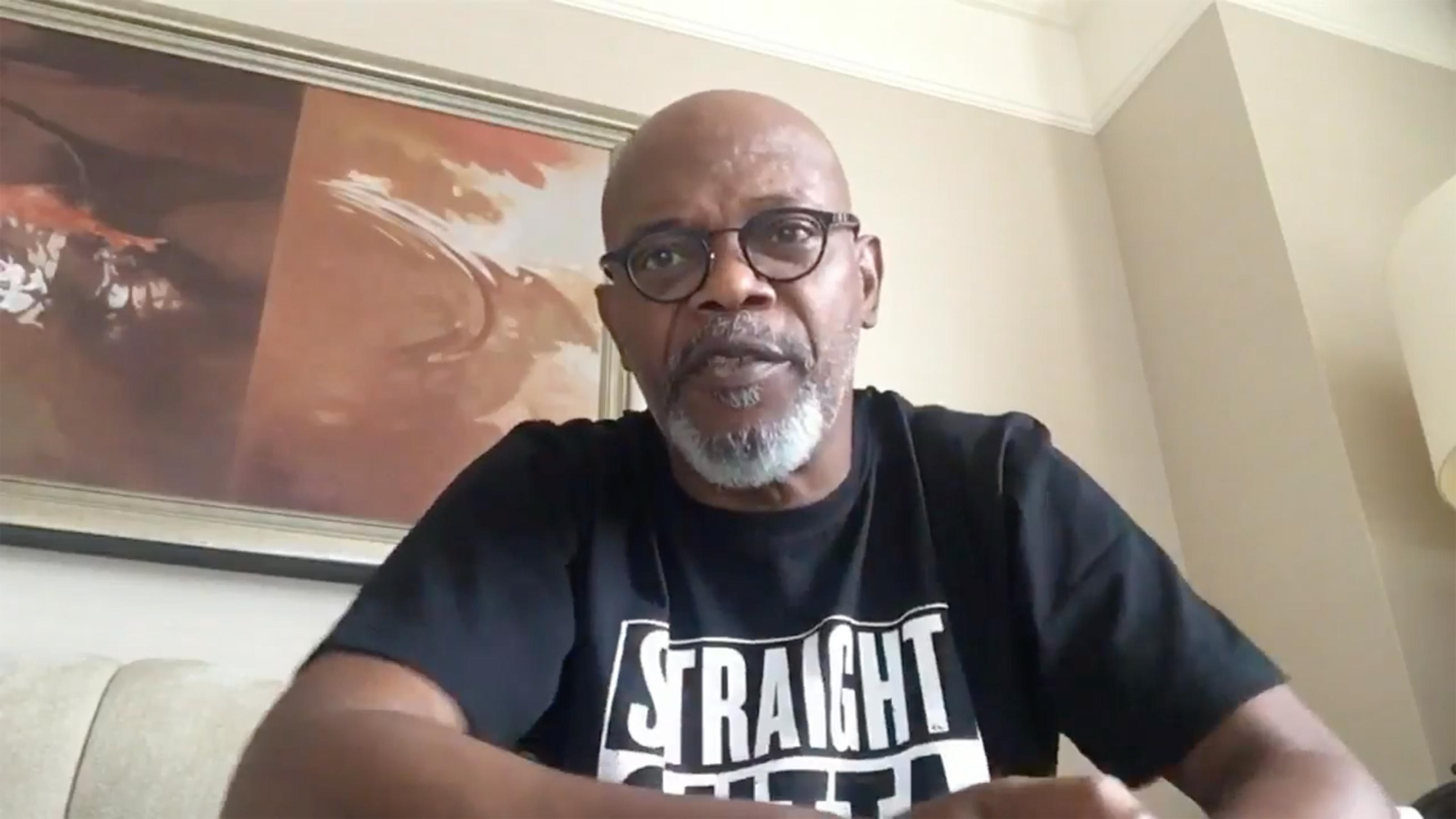 Samuel L. Jackson continued to lobby at Star Wars Celebration for his character's return.