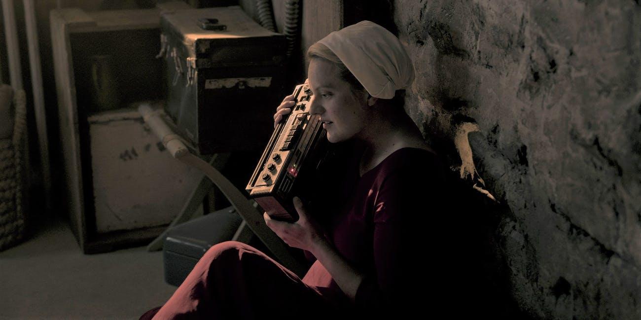 June The Handmaid's Tale Season 3 Cassette Tapes Luke Mark Tuello