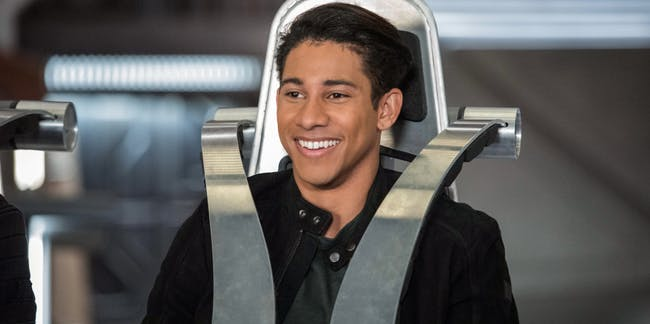 Keiynan Lonsdale as Wally West on 'Legends of Tomorrow'