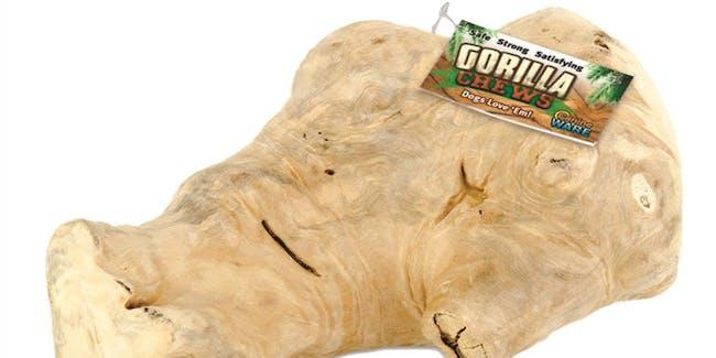 Ware gorilla chew toy