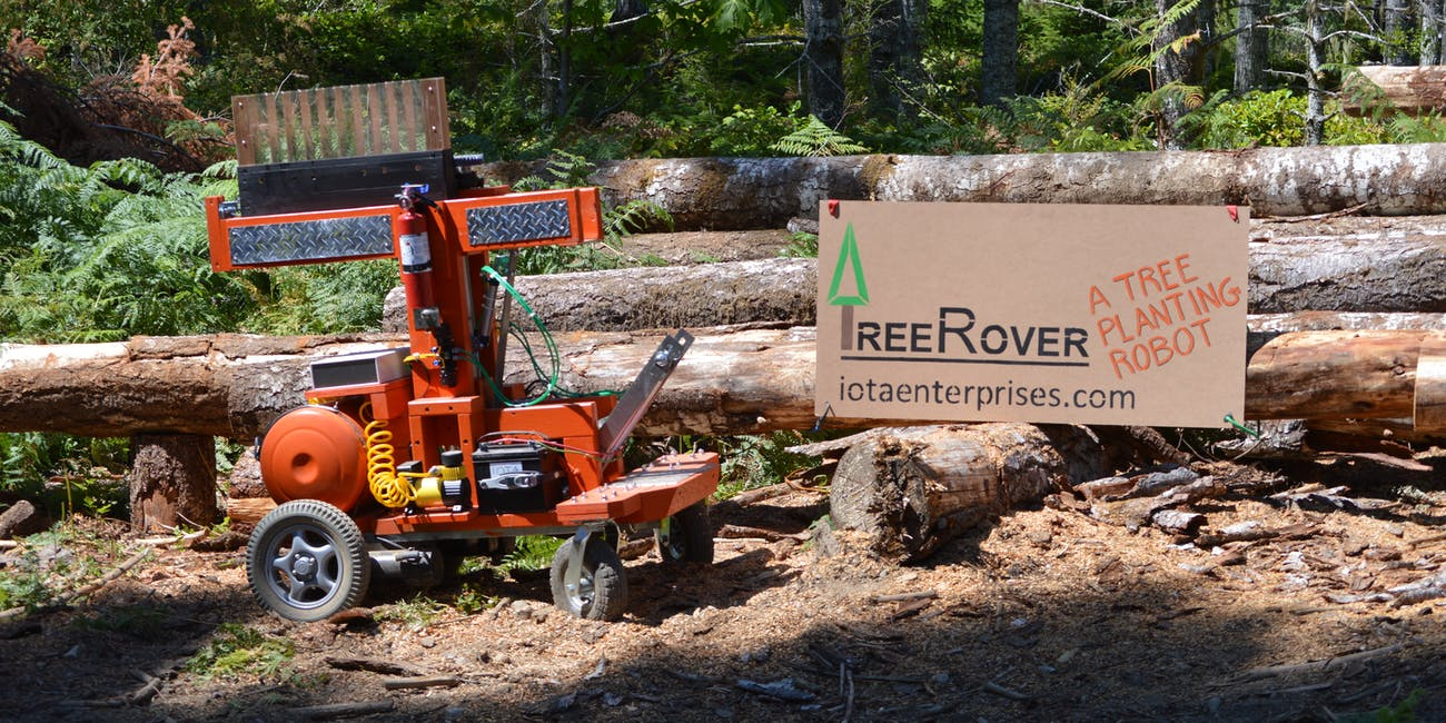 tree planting robot to take on forest industry inverse