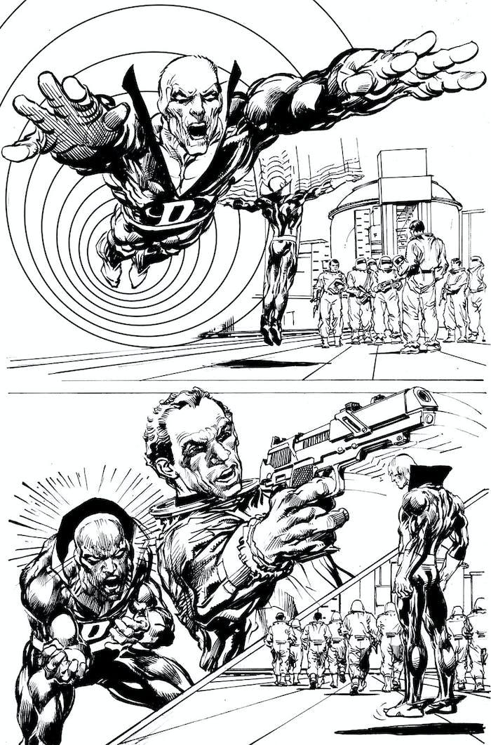 Deadman Journey Into Death Neal Adams