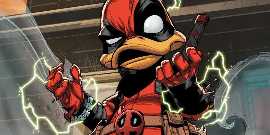 Deadpool the Duck from Marvel Comics