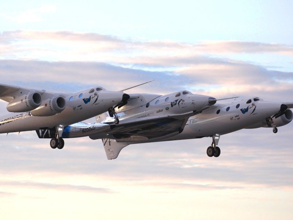 Virgin Galactic's VSS Unity took to the skies for their 3rd carry test this morning.