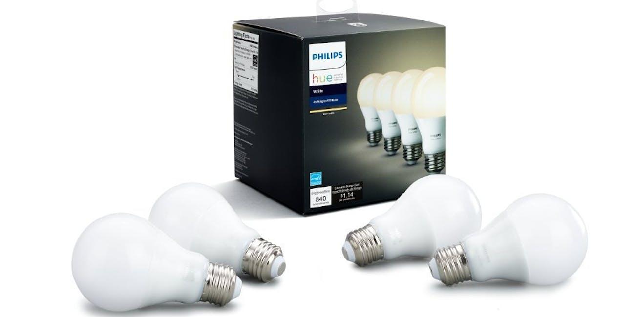 Philips Hue White Smart Bulbs