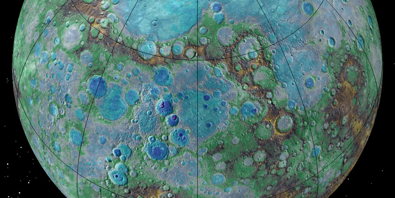 NASA Messenger Mercury tectonic activity.