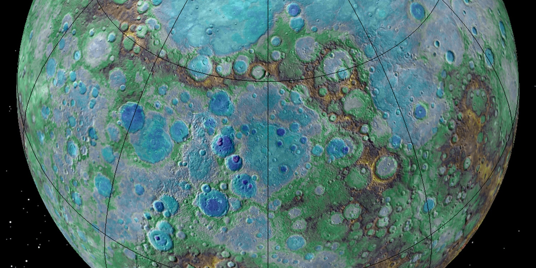 NASA Messenger Mercury tectonic activity.