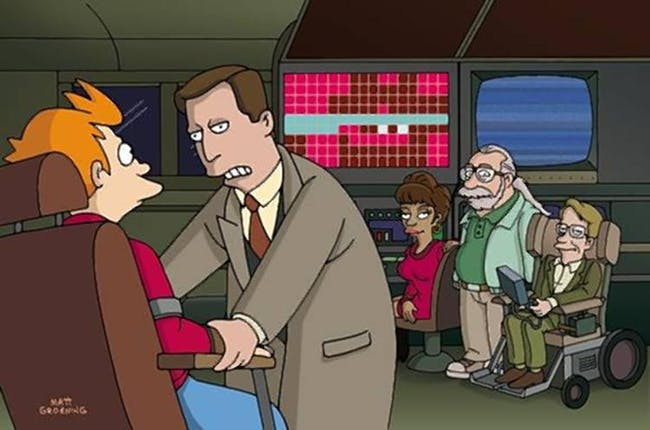 Vice Presidential Action Rangers is a hilarious group of space-time protectors on 'Futurama'.