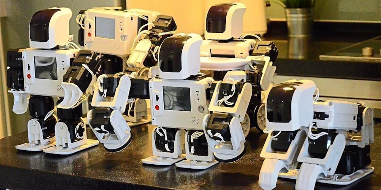 Educational robots most futuristic schools classroom