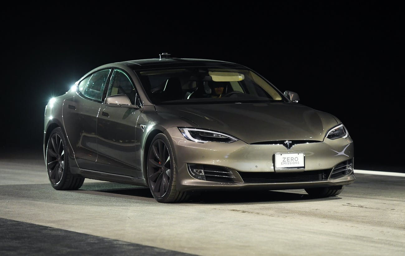The Tesla Model S is currently the cheapest car the company produces.