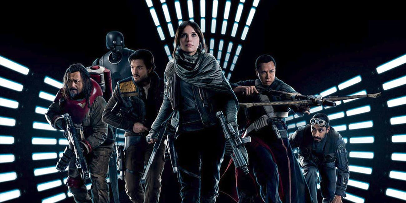 Rogue One smashed the box office on opening weekend.