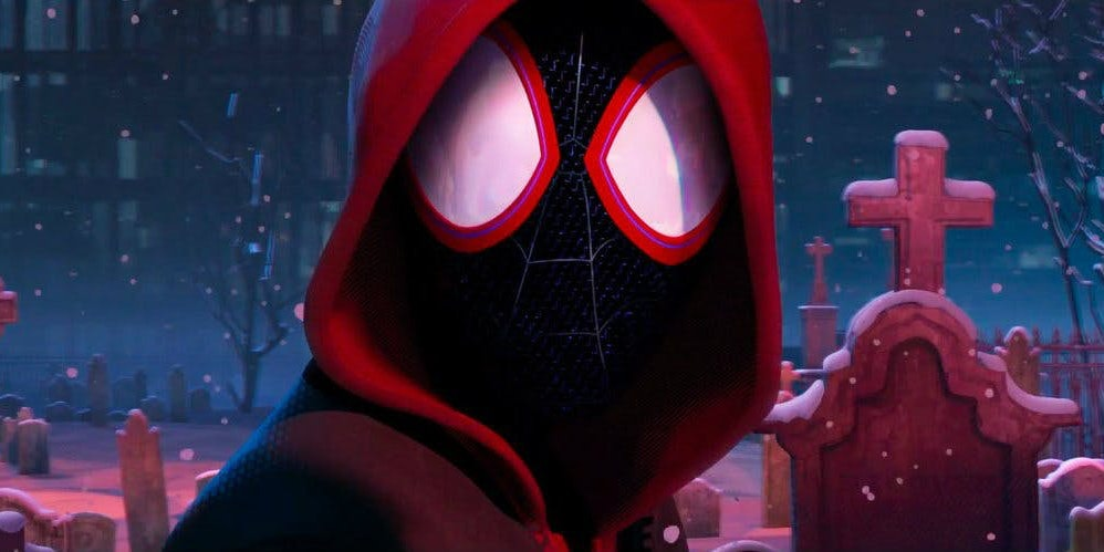 Image result for into the spider verse peter parker grave