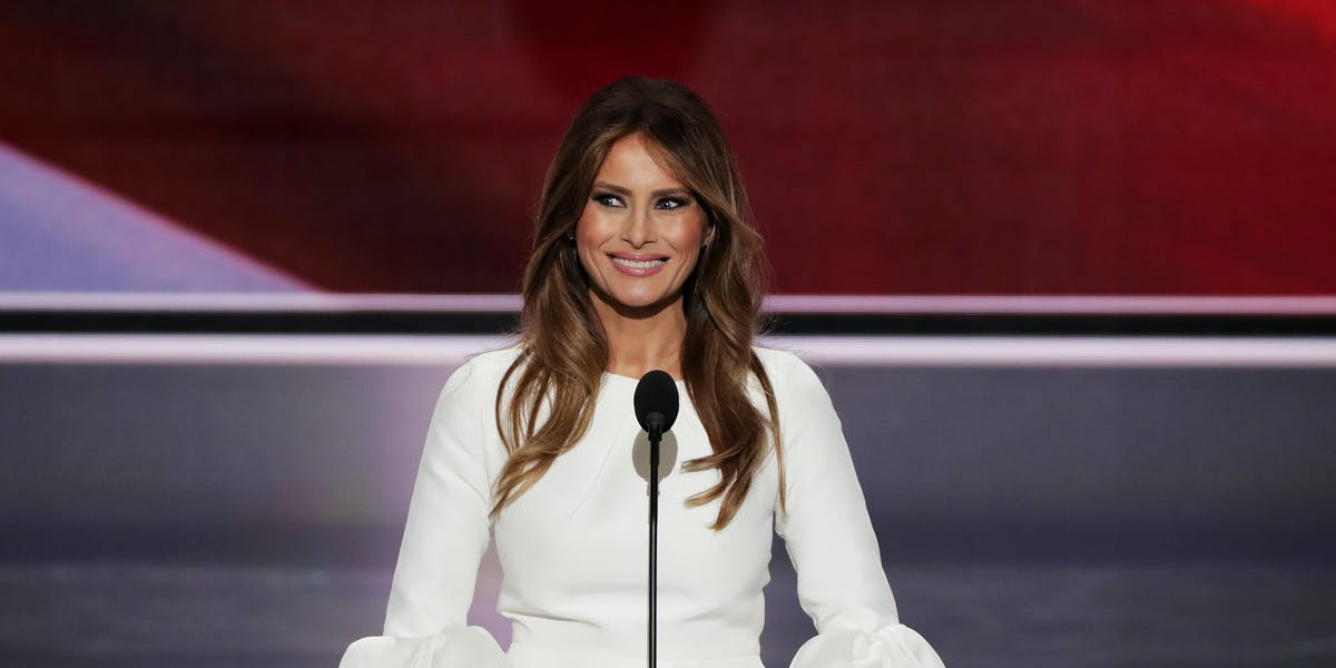 Melania Trump came under scrutiny after delivering a speech at the Republican National Convention supporting her husband, presumptive Republican presidential nominee Donald Trump, that had strikingly similar passages to First Lady Michelle Obama's speech in 2008 at the Democratic National Convention.