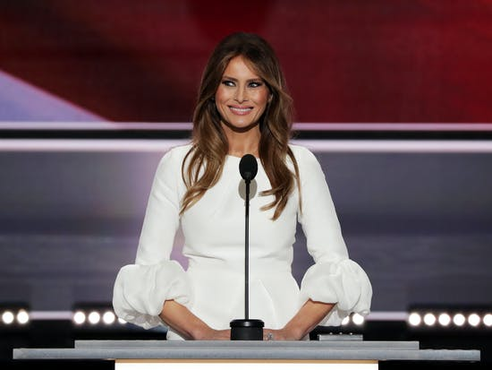Melania Trump's Speechwriters Apparently Suffer From Kleptomnesia
